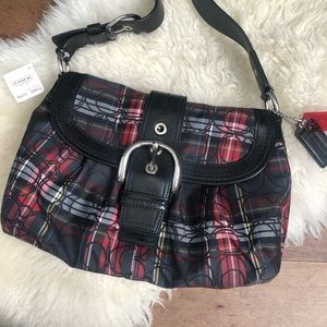 Brand New Tartan Coach Bag